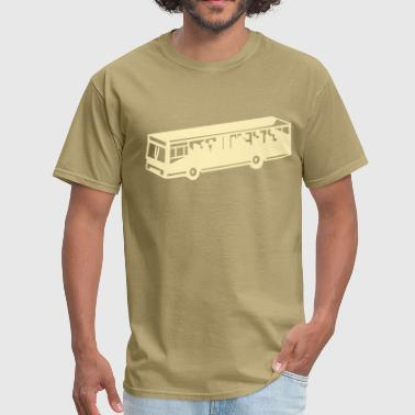 School Bus Public Transportation Bus - Men's T-Shirt