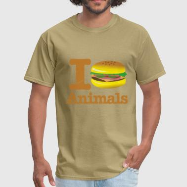 I Eat Animals Hamburger - Men's T-Shirt