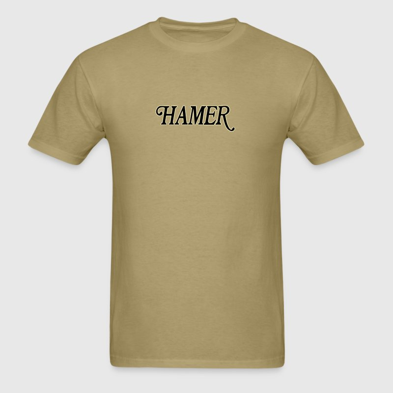 hamer guitars - Men's T-Shirt