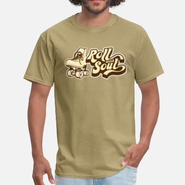 Roller Disco Roll With Soul Retro - Men's T-Shirt