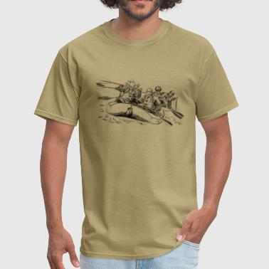 Funny Rafting rafting - Men's T-Shirt