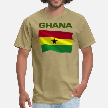 Ghanaian Ghanaian Flag - Men's T-Shirt