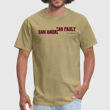 San Andreas Fault - Men's T-Shirt