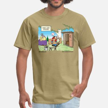Redneck Outhouse - Men's T-Shirt