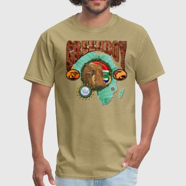 African Warthog - Men's T-Shirt