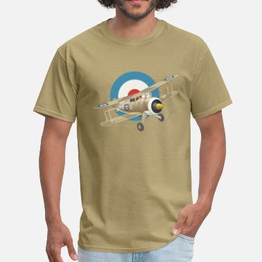 French WWI Airplane - Men's T-Shirt