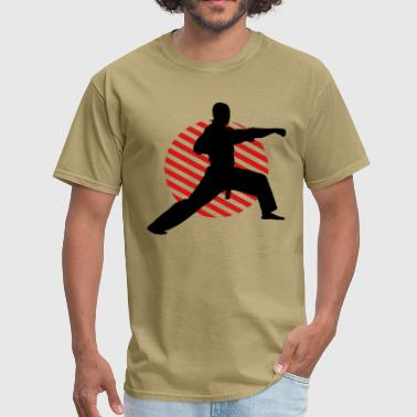 Fight Position Circle 3 2C - Men's T-Shirt