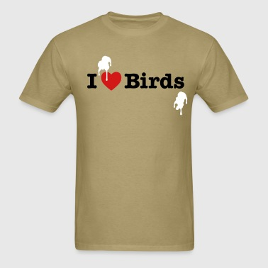 I love Birds - Men's T-Shirt