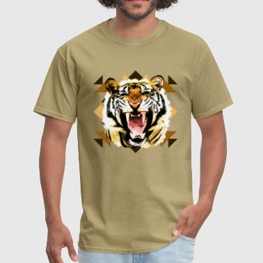 Growling Tiger - Men's T-Shirt