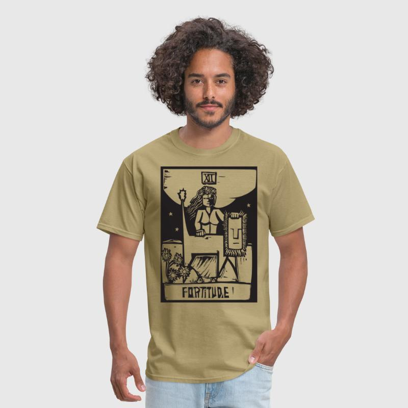 Tarot Cards - Fortitude - Men's T-Shirt