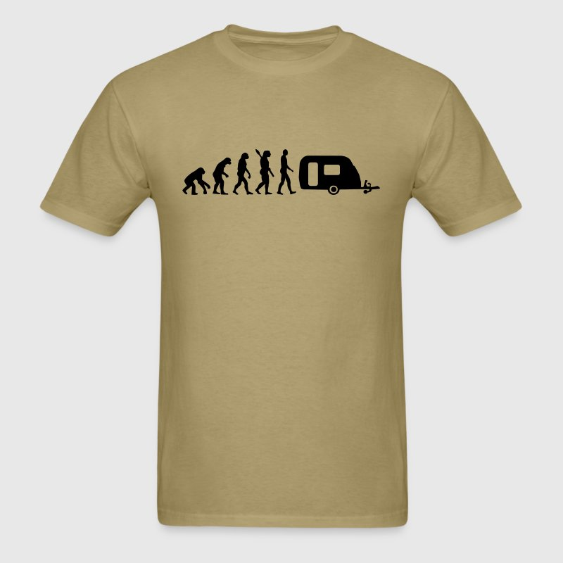 Evolution Camping - Men's T-Shirt