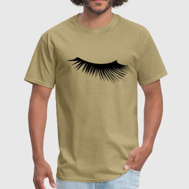 Eyelashes - Men's T-Shirt