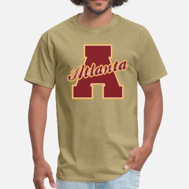 Atlanta Sports Atlanta Letter - Men's T-Shirt