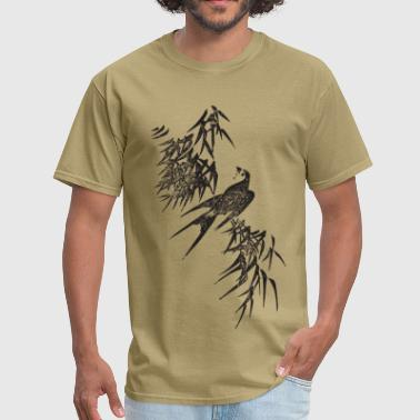 Asian Art Japanese Bird Art - Men's T-Shirt