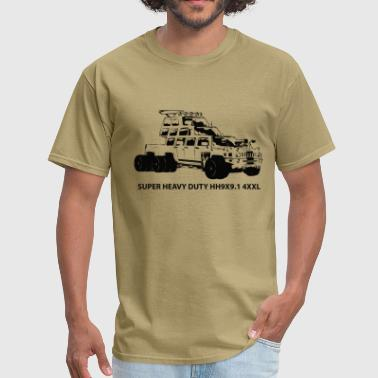 Guzzle Tricked-out Truck - Men's T-Shirt