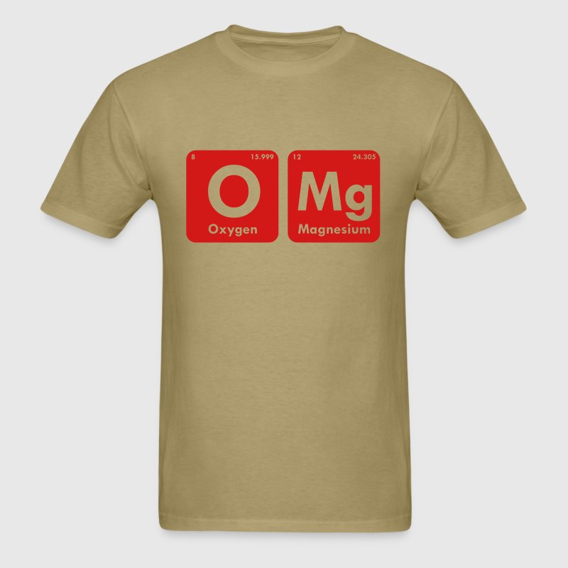 OMG PERIODIC TABLE - Men's T-Shirt