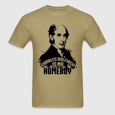 Bulfinch is My HomeBoy - Men's T-Shirt