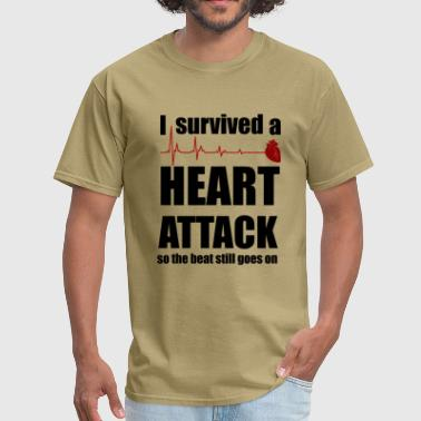 Heart Attack Survivor - Men's T-Shirt