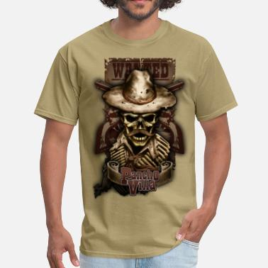 Villa Villa Skull by RollinLow - Men's T-Shirt