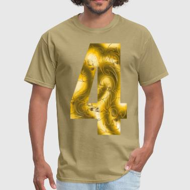 number four - Men's T-Shirt