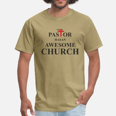 Pastor Church This Pastor has an Awesome Church - Men's T-Shirt