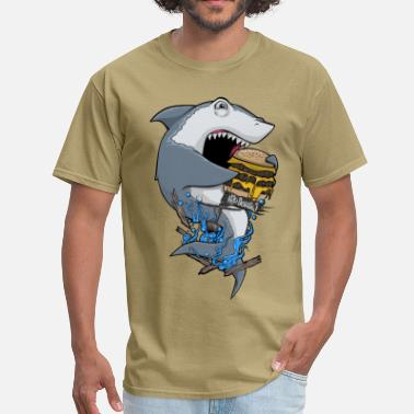 H2o Shark H20 Kids' Shirts - Men's T-Shirt