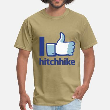 Hitchhiking I hitchhike flex - Men's T-Shirt
