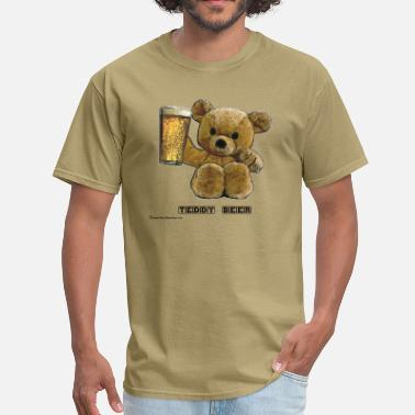 Teddy Bear Teddy Beer - Men's T-Shirt