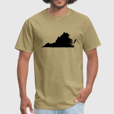 State Of Virginia State of Virginia - Men's T-Shirt