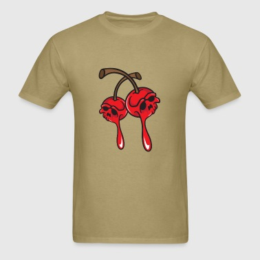 Cherry Skulls - Men's T-Shirt