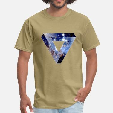 Tribar Penrose Triangle Hipster - Men's T-Shirt