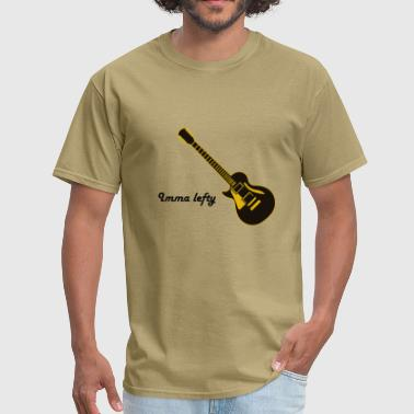 lefty guitar - Men's T-Shirt