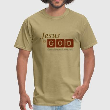 Jesus is God - Men's T-Shirt