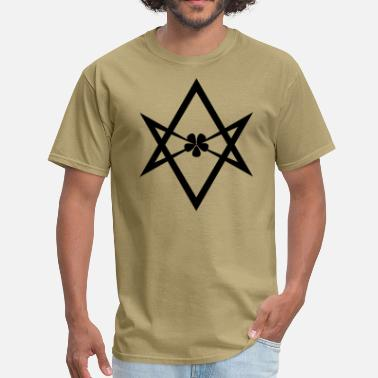 Hexagram Unicursal Hexagram - Men's T-Shirt