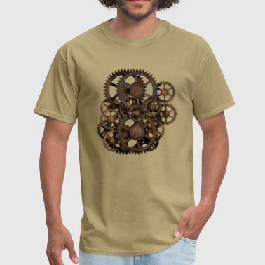 Steampunk Gears on your gear T-Shirt - Men's T-Shirt