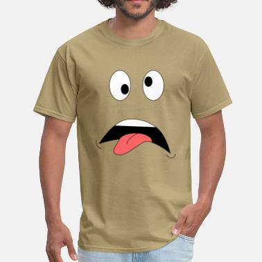 Crazy Face - Men's T-Shirt