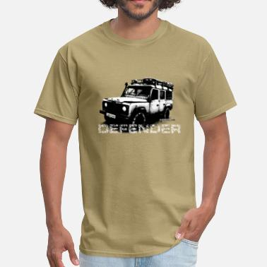 Defender Land Rover Defender illustation - AUTONAUT.com - Men's T-Shirt