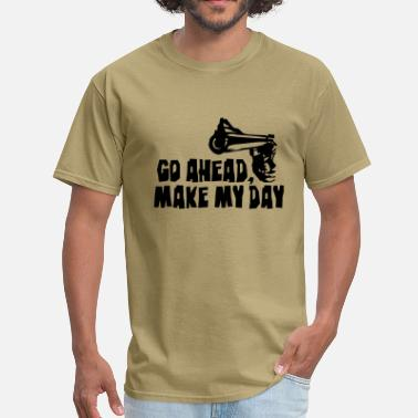 Dirty Harry make_my_day_2 - Men's T-Shirt