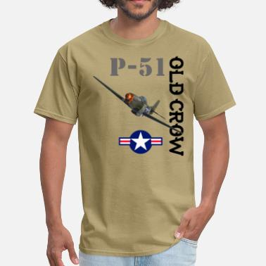 Wwii P-51 Old Crow - Men's T-Shirt
