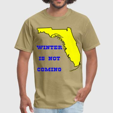 Florida Key Florida Winter Is Not Coming  ©WhiteTigerLLC.com   - Men's T-Shirt