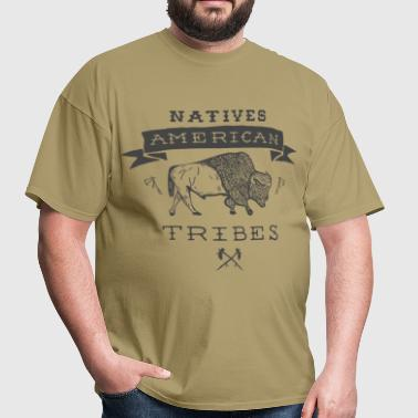 Natives American Tribes - Men's T-Shirt