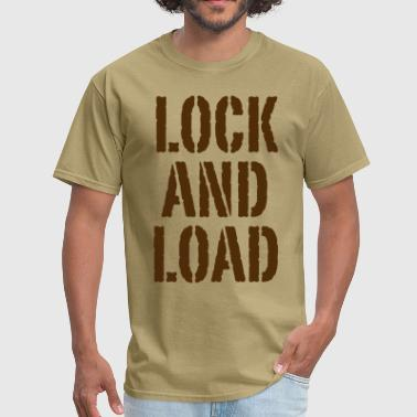 Lock and load - Men's T-Shirt