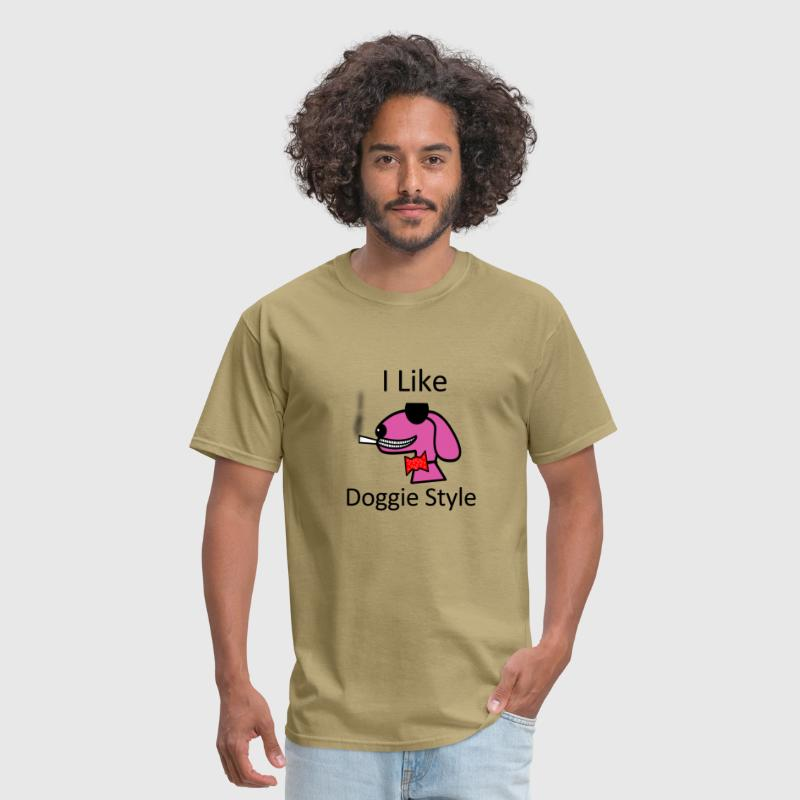 I like doggy style - Men's T-Shirt