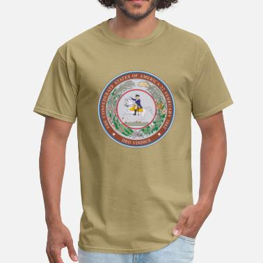 Deo Vindice us_csa_seal / NAUTEE.com - Men's T-Shirt