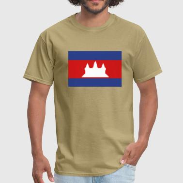 Flag of Cambodia - Men's T-Shirt