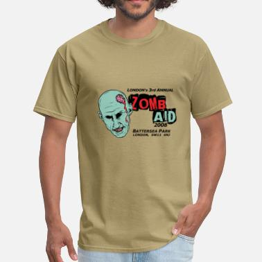 Shawn Of The Dead ZombAid Shaun Dead  - Men's T-Shirt