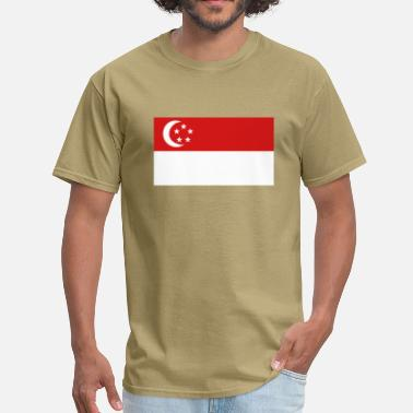 Flag Of Singapore Flag of Singapore - Men's T-Shirt