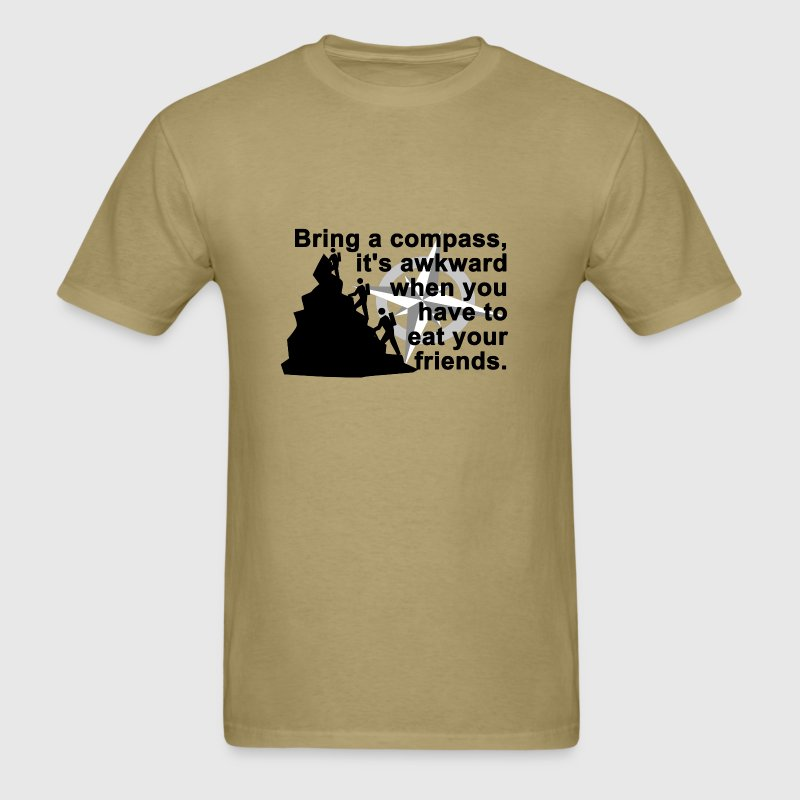 Bring a compass... - Men's T-Shirt