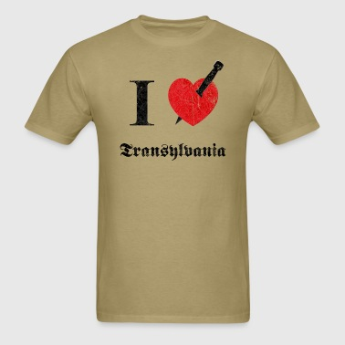 I love Transylvania (dd print) - Men's T-Shirt