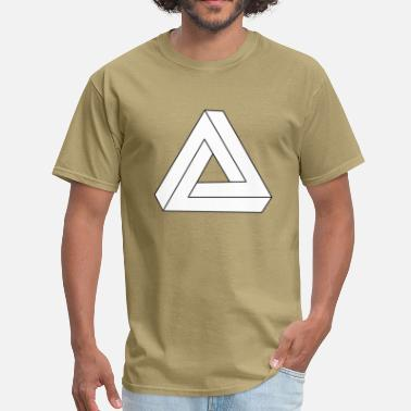 Impossible Triangle Optical Impossible Triangle - Men's T-Shirt